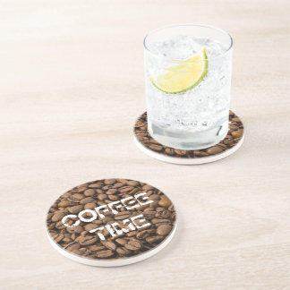 Coffee Time Drink Coaster