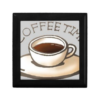Coffee-time-free-clipart--400.jpg Keepsake Box by CREATIVEBRANDING at Zazzle