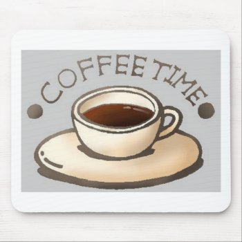 Coffee-time-free-clipart--400.jpg Mouse Pad by CREATIVEBRANDING at Zazzle