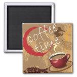 Coffee Time Fridge Magnets