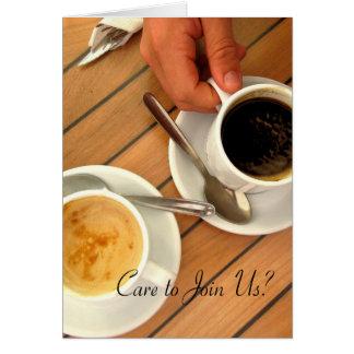 Coffee Time Invitation