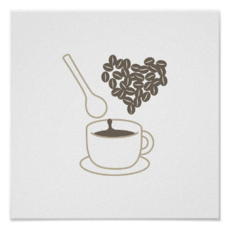 Coffee Time Kitchen Posters