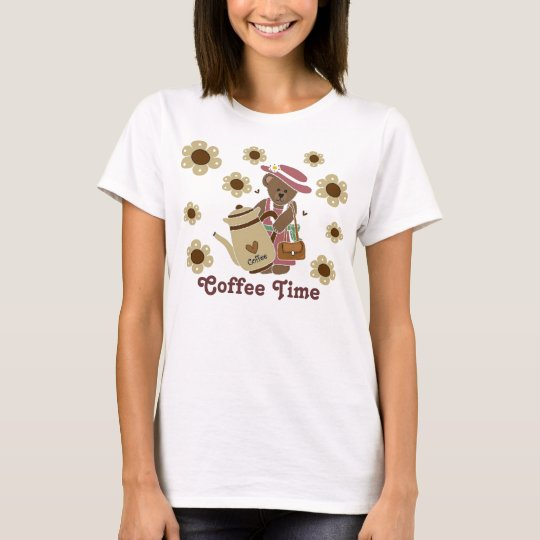 Coffee Time Ladies Top