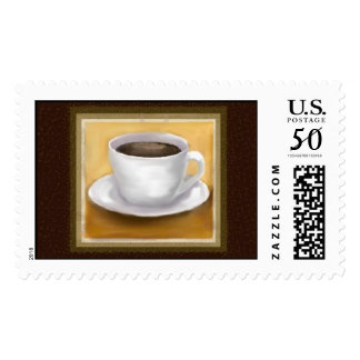 Coffee Time, large postage stamp