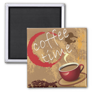 Coffee Time Magnet