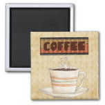 Coffee Time magnet Refrigerator Magnet