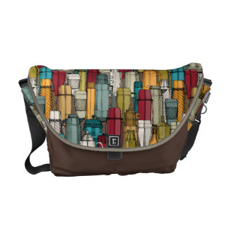coffee time courier bag