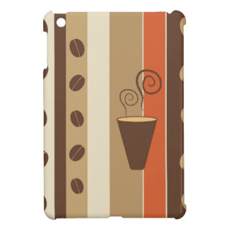 Coffee Time Modern Vector Illustration iPad Mini Cases