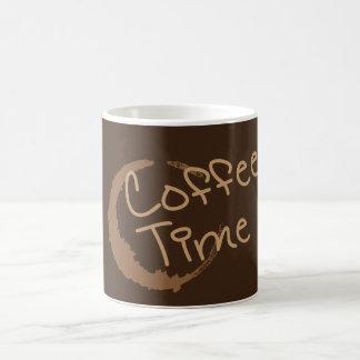 Coffee Time Basic White Mug