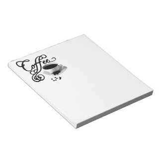 Coffee Time Note Pad