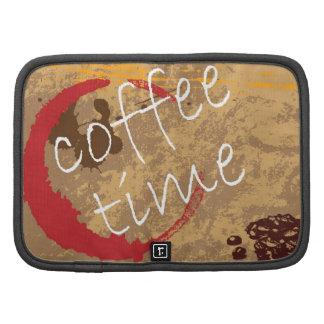 Coffee Time Folio Planner