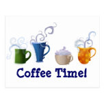 Coffee Time Post Cards