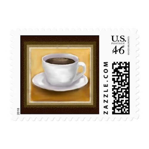Coffee Time Postage stamp