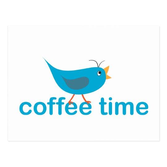 coffee-time postcard