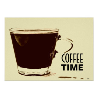 Coffee Time Poster Art