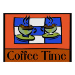 Coffee Time Posters