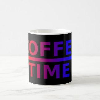 Coffee Time Red Blue Fade Mug