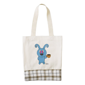 Coffee Time Rolly Custom Tote Bag