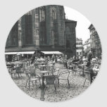 Coffee Time Round Sticker