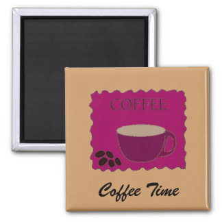 Coffee Time Sign Magnet