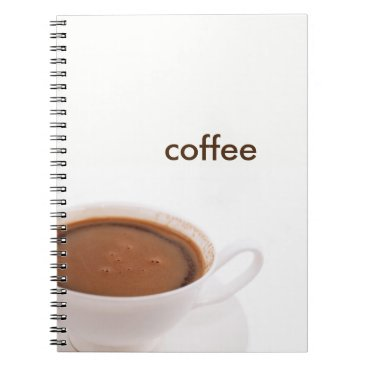 anakondasp coffee time spiral notebook