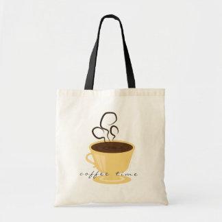 Coffee Time Tote Budget Tote Bag
