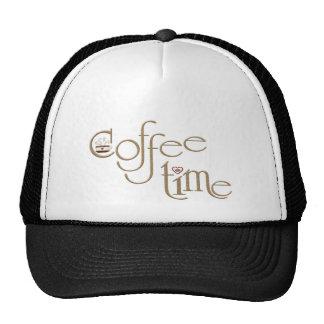 Coffee time trucker hat