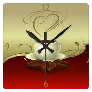 Coffee Time Wall Clock (1)