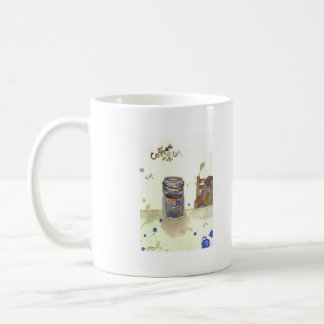 Coffee To Go Folk Art KitchenWare Coffee Mug