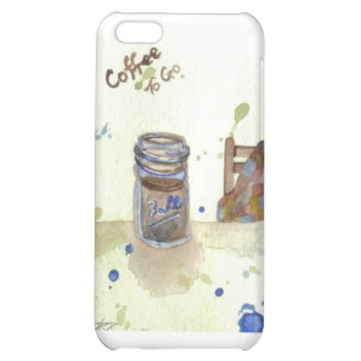 Coffee To Go Folk Art KitchenWare iPhone 5C Cover