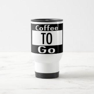 Coffee to Go Travel Mug