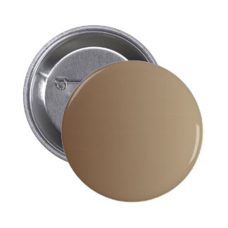 Coffee to Khaki Vertical Gradient Pinback Button