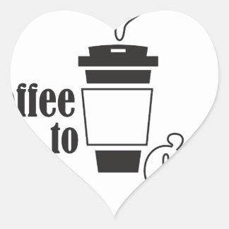 coffee tons go heart sticker