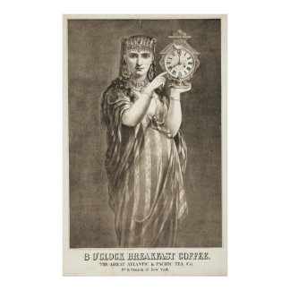 Coffee Trademark 1870 Poster