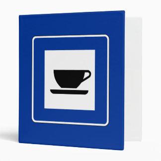 Coffee Traffic Sign Binder