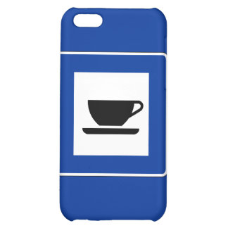 Coffee Traffic Sign iPhone 5C Covers