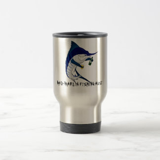 coffee travel mug, MAD-MARLIN FISHING AUST Travel Mug