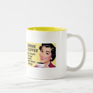Coffee Two-Tone Coffee Mug