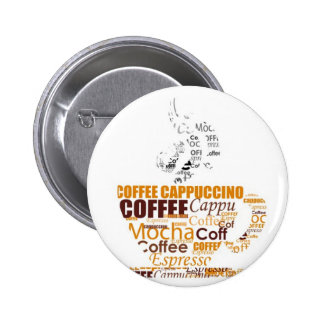 COFFEE TYPOGRAPHY DIGITAL WORDS DRINKS CAPPUCCINO BUTTON