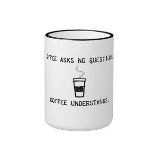 Coffee Understands Ringer Mug