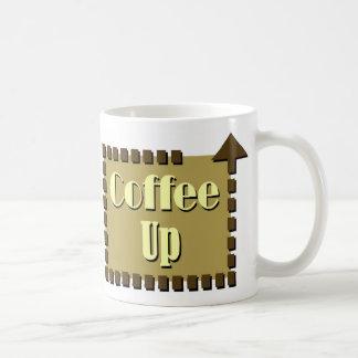 Coffee Up Arrow Mug