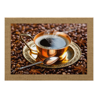 Coffee Vector Art Home / Business Decor Poster