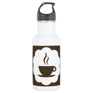 coffee vintage stainless steel water bottle