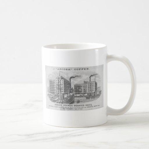 Coffee Vintage Trade Card Coffee Mug