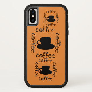 Coffee Wake Up Morning Java Hot Drinks Fun Drink iPhone X Case