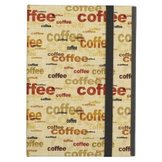 Coffee Wallpaper iPad Air Case