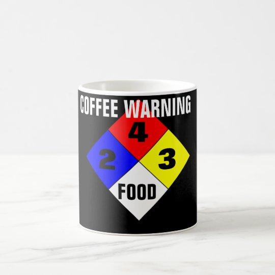 Coffee Warning Coffee Mug