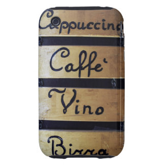 Coffee, Wine and Beer sign, Venice, Italy Tough iPhone 3 Case