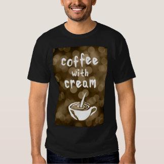 coffee with cream bokeh T-Shirt