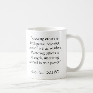 Coffee with Lao Tzu Coffee Mug